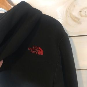 The North Face Jackets & Coats - The North Face | Black & Red Full Zip Jacket